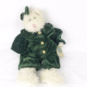 Boyds Bears Cleo Green Eye Plush Cat